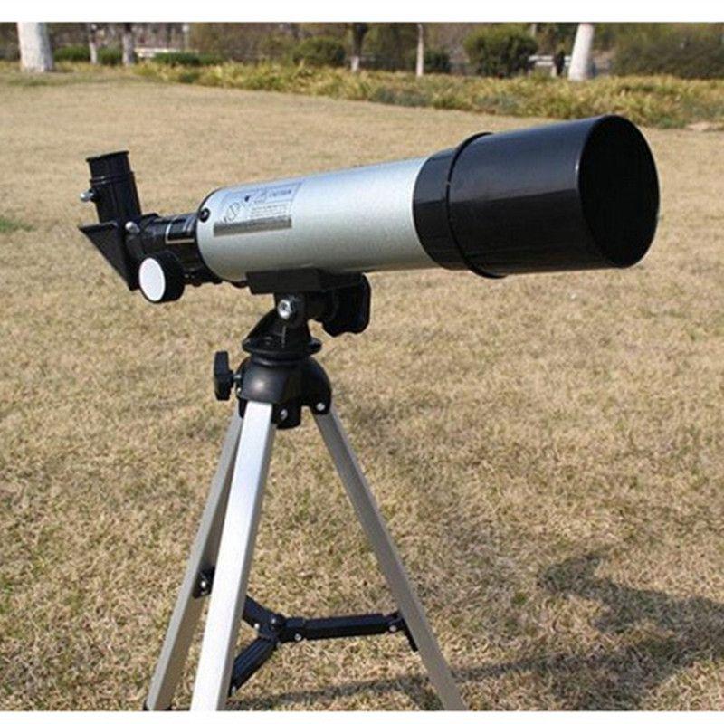 Télescope astronomique monoculaire de haute qualité 360/50mm télescope de repérage extérieur avec trépied meilleur cadeau de noël pour les enfants