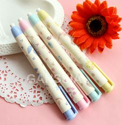 1Pc  Novelty Pen Shaped rubber Earsers School stationery Eraser Office accessories Kids learning supplies (ss-1259)