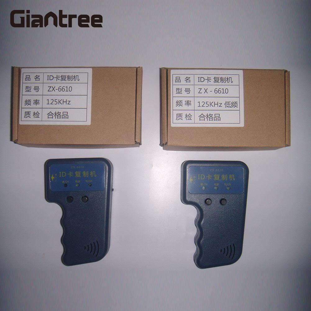 Giantree ручной Портативный 125 кГц RFID Считыватель RFID Дубликатор Копиры писатель подходит для EM4100 EM4305 ID карты тег