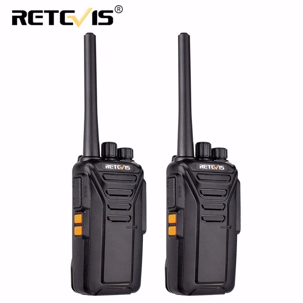 2 pcs Retevis RT27 Walkie Talkie License-free PMR/FRS 0.5W/2W PMR446 UHF 16/22CH VOX CTCSS/DCS Scrambler Portable Two Way Radio
