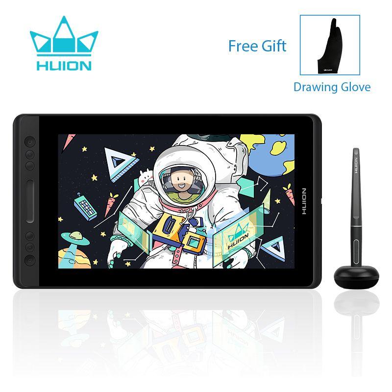 HUION Kamvas Pro 13 GT-133 Stift Display Monitor Batterie-Freies Stift Grafiken Zeichnung Tablet Monitor mit Express Tasten und touch Bar