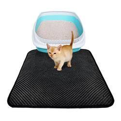 Double étanche chat tapis pour animaux de compagnie EVA Double-Couche Litière Pour Chat tapis L/M/S 2018 Vente CHAUDE chien chat chiot tapis/lit