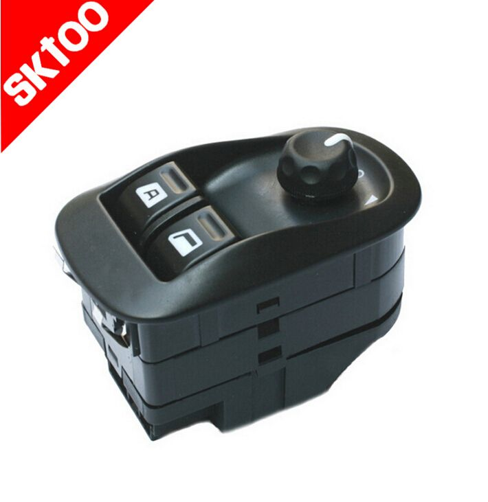 car switch TS12-PG3110 6552 WP for Peugeot 206 207  master glass lift switch