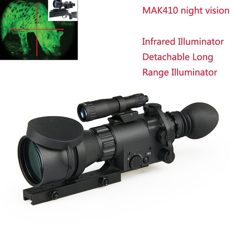 5x nigt vison scope the high rate of cross infrared night vision equipment MAK410 hunting sight gz270014