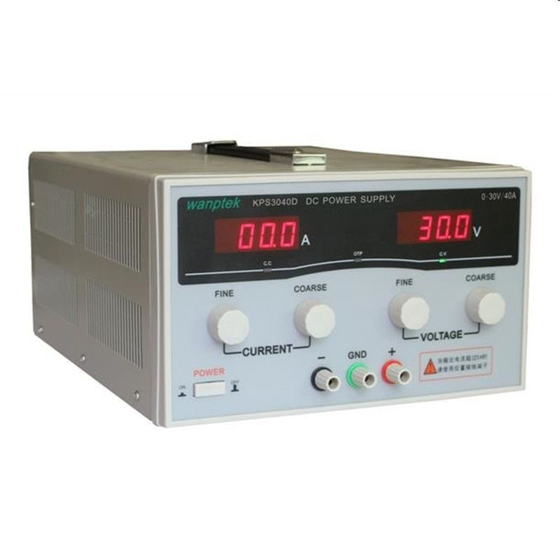 220V KPS3040D High Power Switching Power Supply 30V / 40A Adjustable Power Supply 1200W Adjustable LED Dual Display