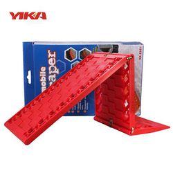 YIKA 2 pcs Pliable Voiture Planche De Sauvetage Neige Boue Sable Automobile Sauvetage Escaper Hors-route Entraînant les Équipements Indispensables