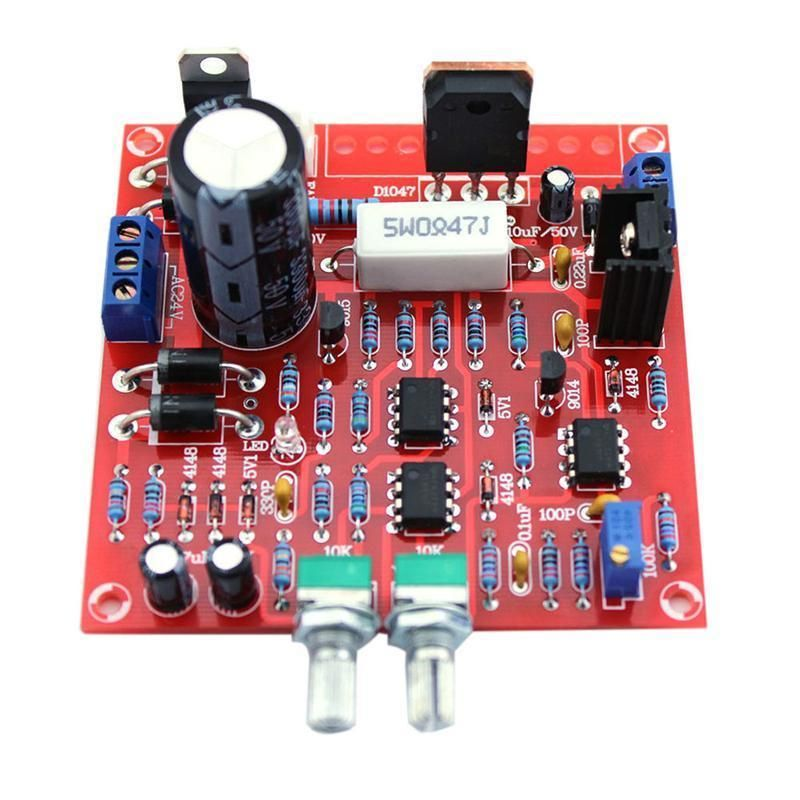 Red 0-30V 2mA-3A Adjustable DC Regulated Power Supply Board DIY Kit Short Protection For School Lab Accessories