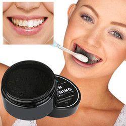 30g Dents Blanchissant Poudre Naturel Organique Activé Charbon De Bambou Dentifrice Mise À L'échelle Hygiène Bucco-dentaire De Nettoyage Emballage Prime