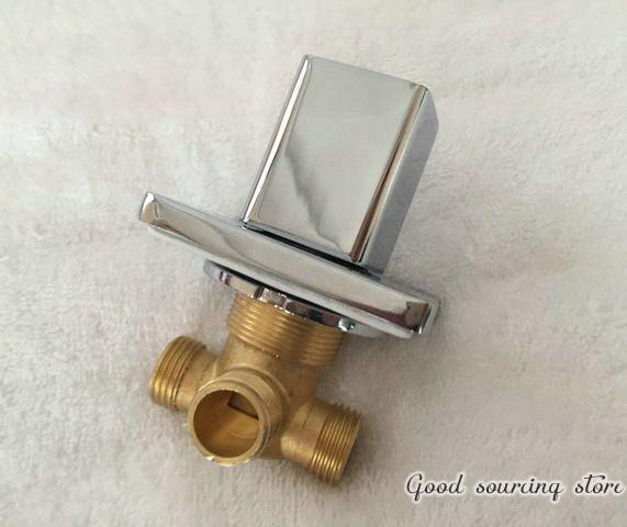 Встроенный водяной кран для ванной кран, смеситель для душа аксессуар