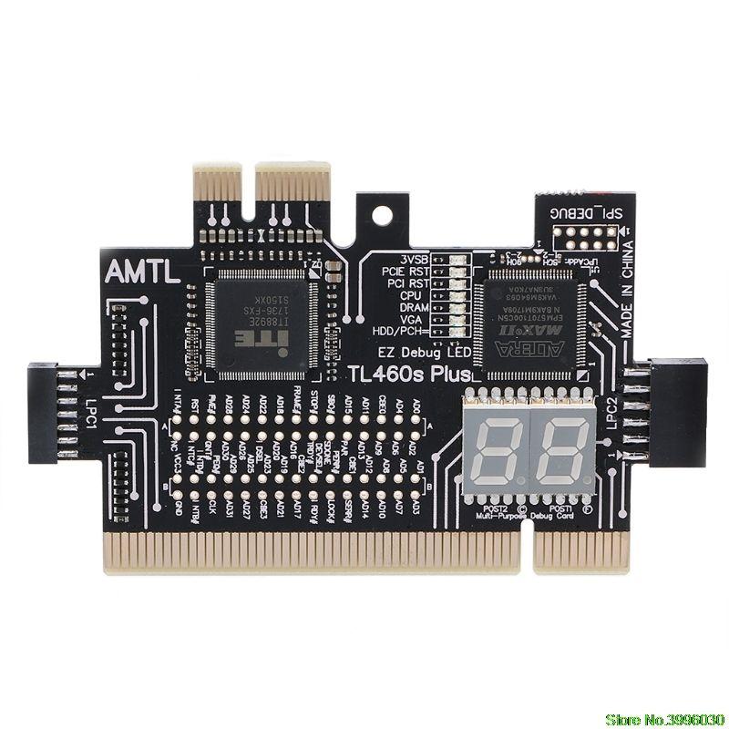 Carte de LPC-DEBUG de Diagnostic de l'analyseur PCI PCI-E lpc-debug
