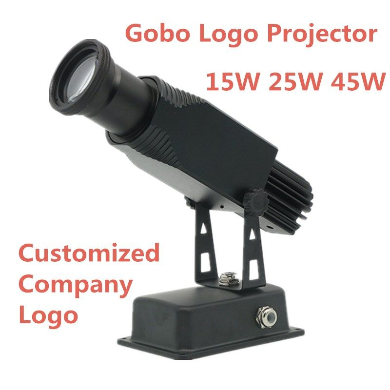 High quality LED Custom lmage Gobo Logo projector 15W 25W 45W Shop Mall advertising image projections lamp light Static Restaura