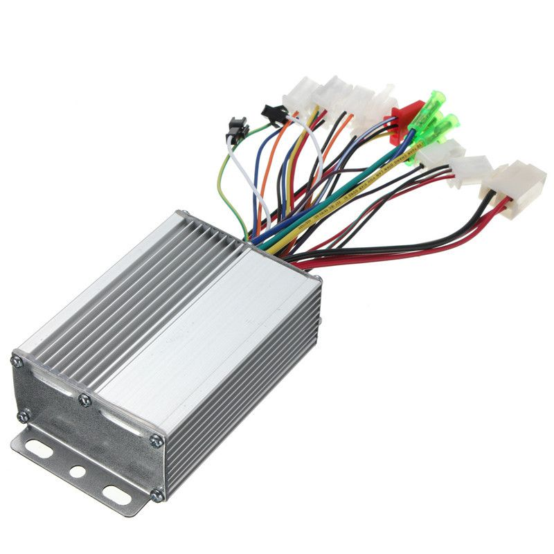 350W 36V/48V DC 6 MOFSET brushless controller, BLDC controller, E-bike / E-scooter / electric bicycle speed controller (simple)
