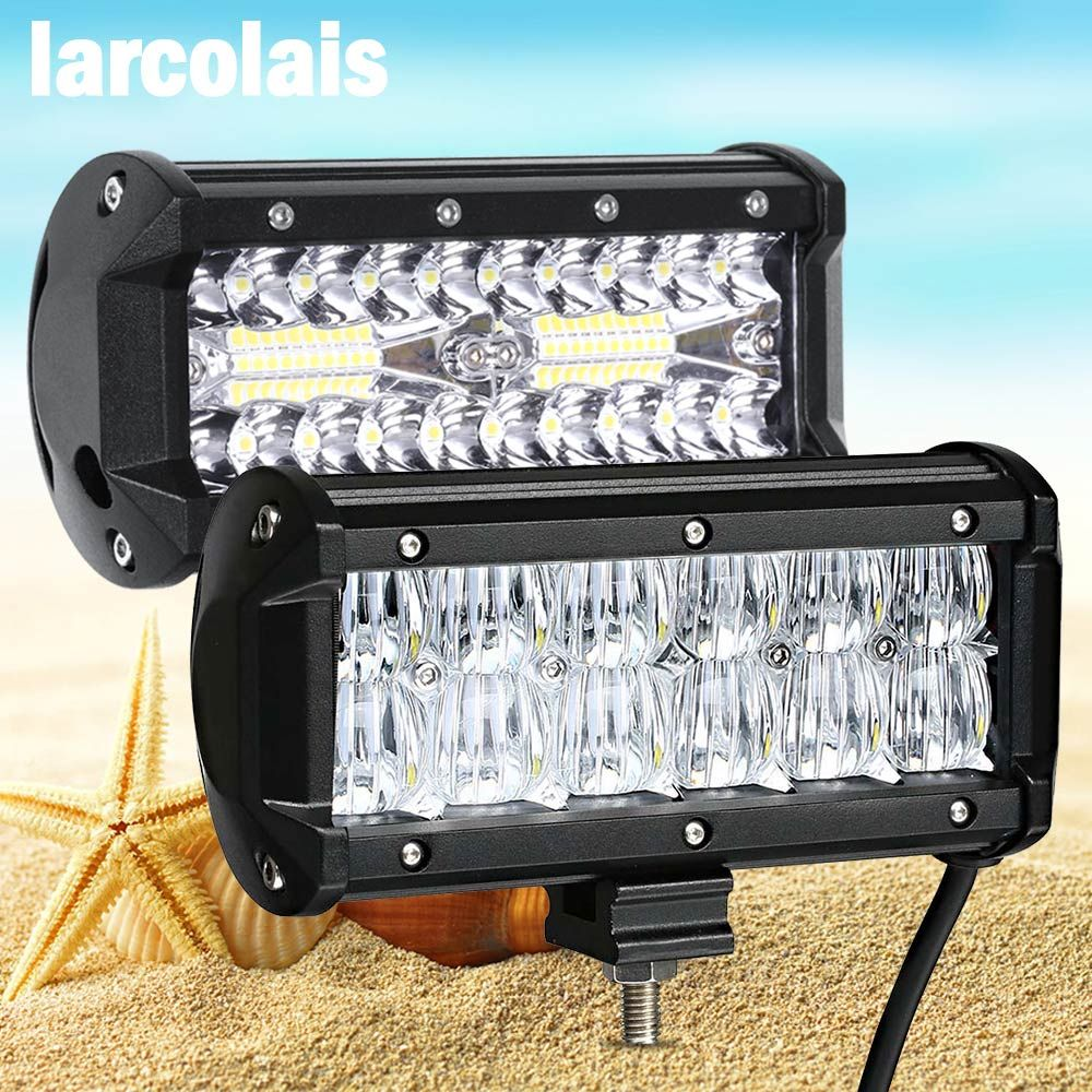 Led Work light 6.5 inch Led Bar for Off Road 4x4 4WD ATV UTV SUV Driving Motorcycle Truck Led Light Bar Auto Lamp