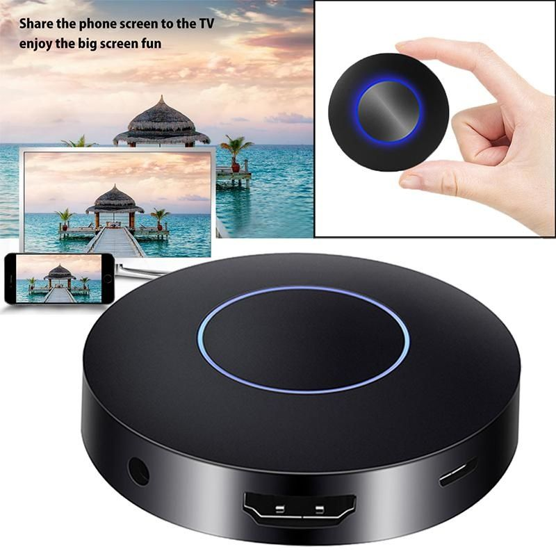 JAKCOM Mini Chromecast Miracast Ultra 1080P WiFi Display TV Dongle Wireless Receiver HDMI DLNA AirPlay for Smartphone Tablet PC
