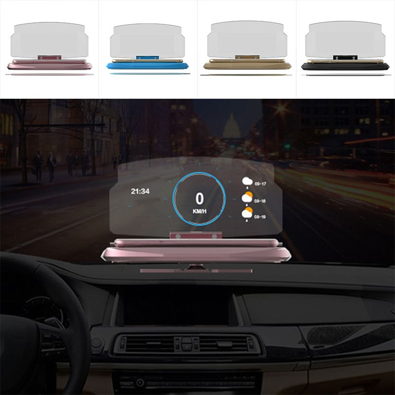 High Quality 6.5 inch Smartphone HUD Navigation HD Reflection Head Up Display Holder Mount New Accessories Parts