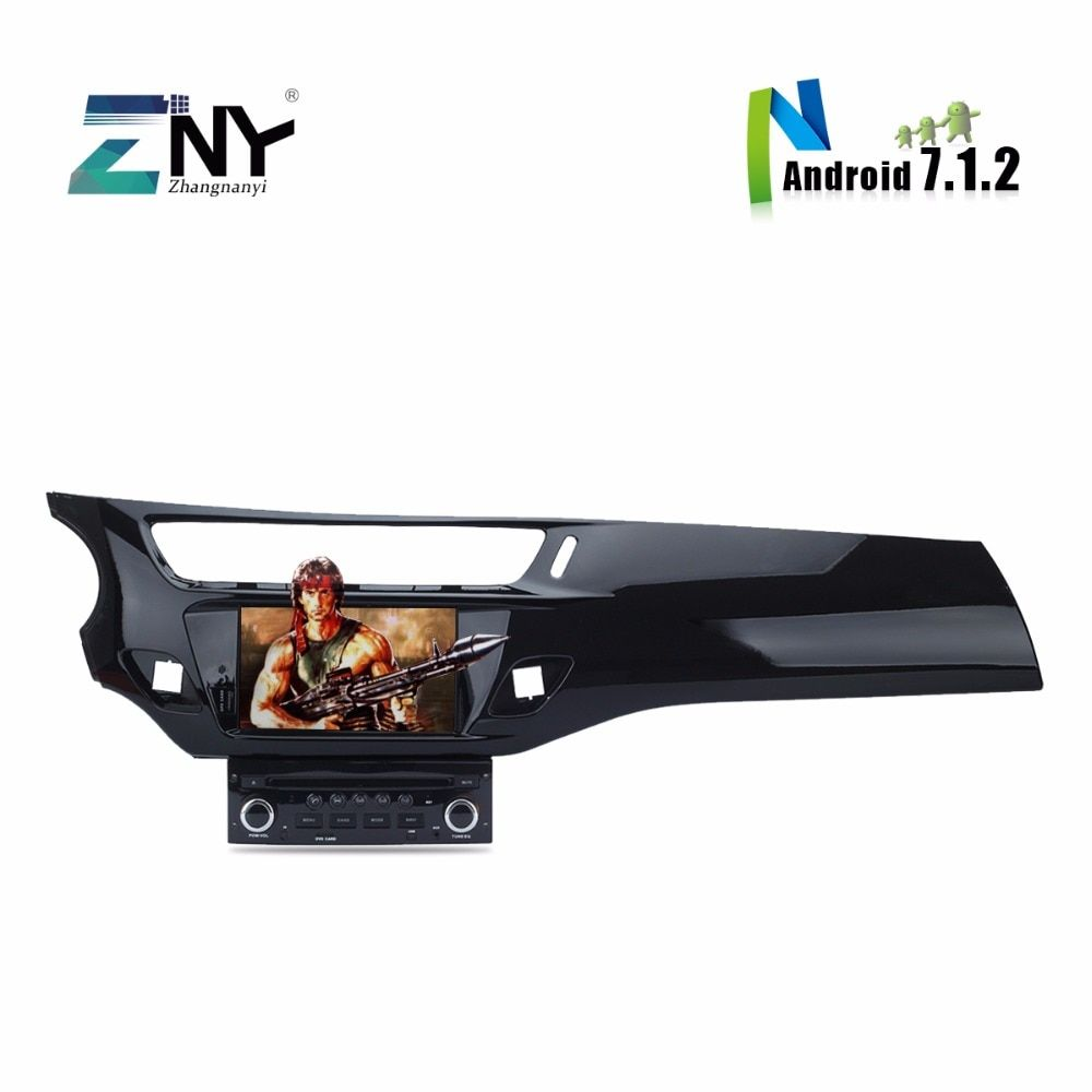 8 Core CPU Android 7.1 Car DVD For Citroen C3 DS3 Auto Radio RDS Stereo GPS Navigation Bluetooth Multimedia 2GB RAM 32GB ROM