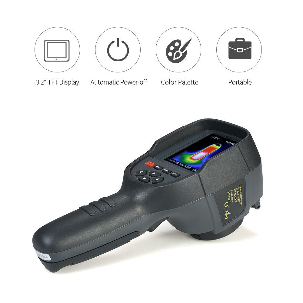 Professionelle Handheld Thermische Imaging Kamera 3,2