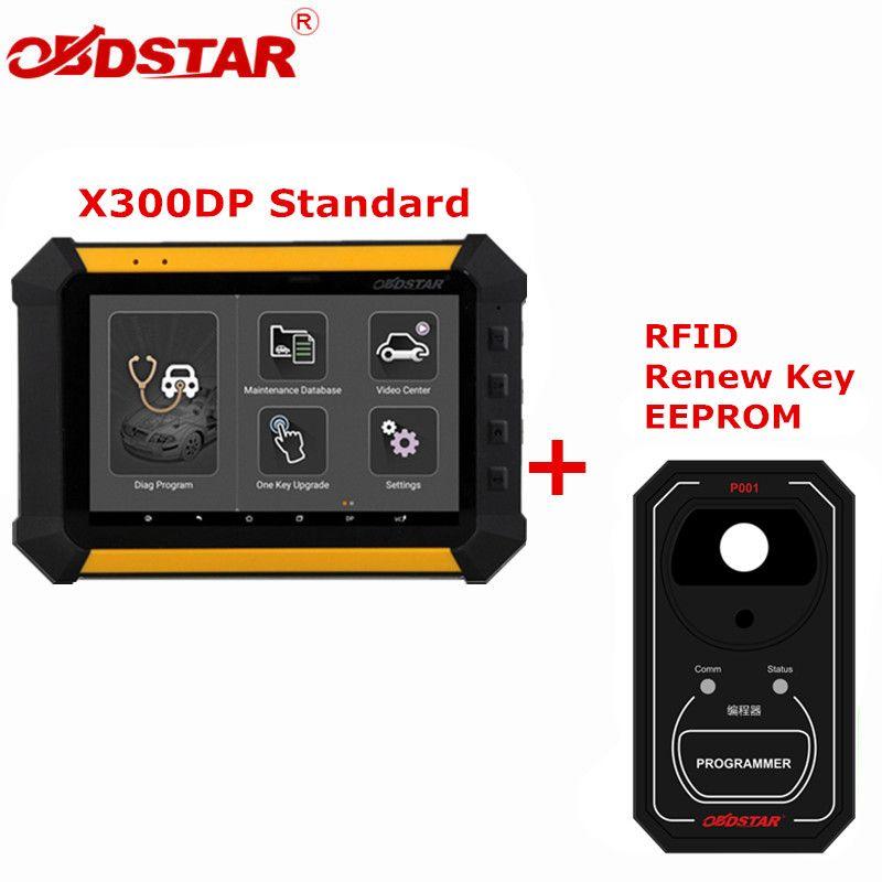 OBDSTAR X300 DP Standard Immobilizer Odometer Adjustment EEPROM/PIC Adapter OBDII X300 DP Plus Plus OBDSTAR P001 3 In 1
