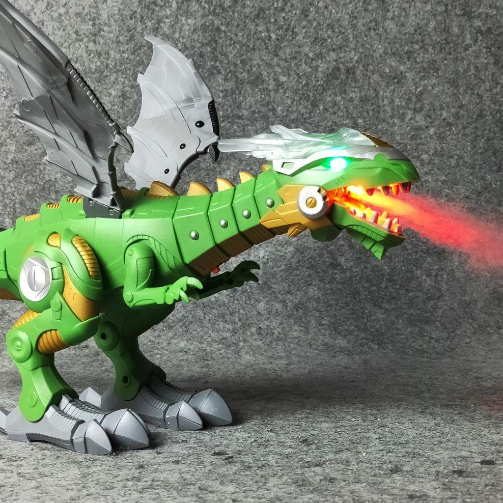 Électrique interactive Dinosaures jouets: parler et marche Feu Dragon et Dinosaures Pour Jeux, Enfants Jouets De Noël Cadeau