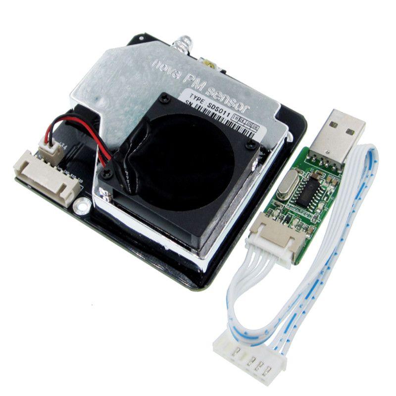 Nova PM sensor SDS011 High <font><b>precision</b></font> laser pm2.5 air quality detection sensor module Super dust dust sensors, digital output