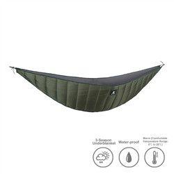 Onetigris Ringan Penuh Panjang Tempat Tidur Gantung Underquilt Di Bawah Selimut 40 F untuk 68 F (5 C untuk 20 C)
