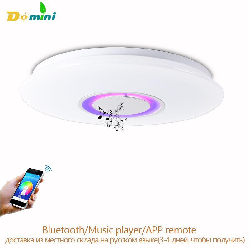 APP Remote Deckenbeleuchtung Für Iphone Bluetooth Sprecher FÜHRTE Intelligente lampe Musik Licht Moderne Deckenleuchten Für Kinder Zimmer Ort Led