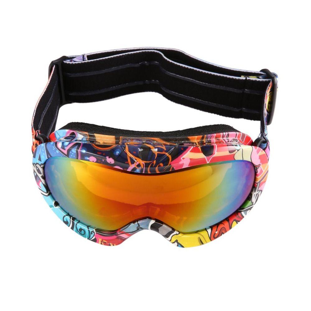 Los niños Gafas De Esquí Doble Lente Anti-vaho UV400 para Deportes Al Aire Libre Gafas de Esquí de Nieve Snowboard Gafas de Protección Gafas