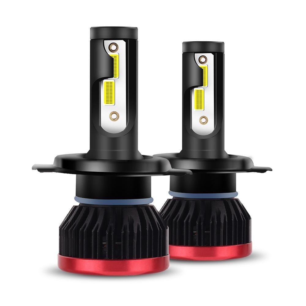 MALUOKASA 2PCS H7 H4 LED Headlight Bulbs 100W 20000LM LED H8 <font><b>9005</b></font> 9006 DOB Chip HB3 H11 H1 Hi lo Car Headlamp Fog Light 12v 24v