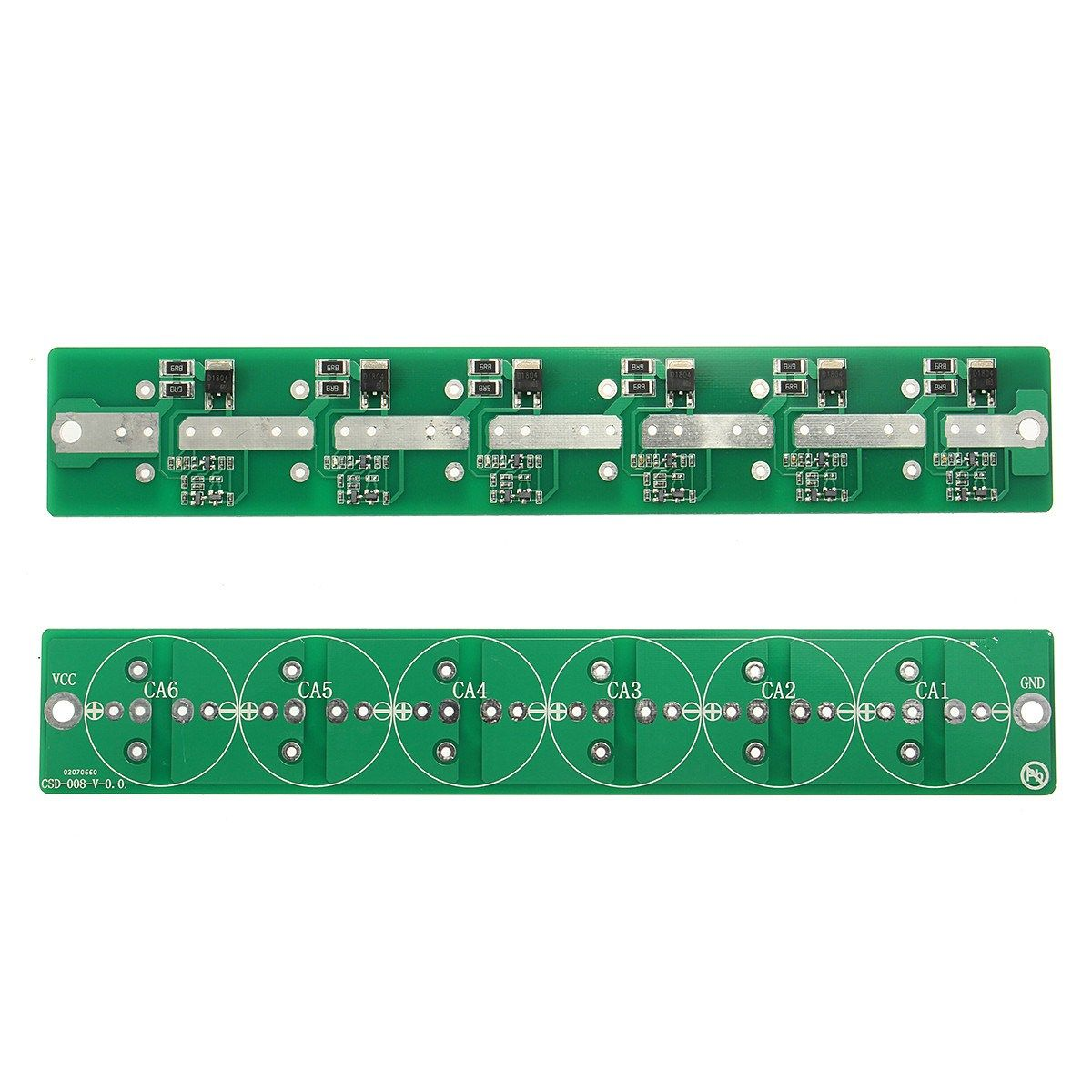 New 6 String 2.7V 100F - 500F 100F 120F 220F 360F 400F 500F Super Capacitor Balancing Protection Board
