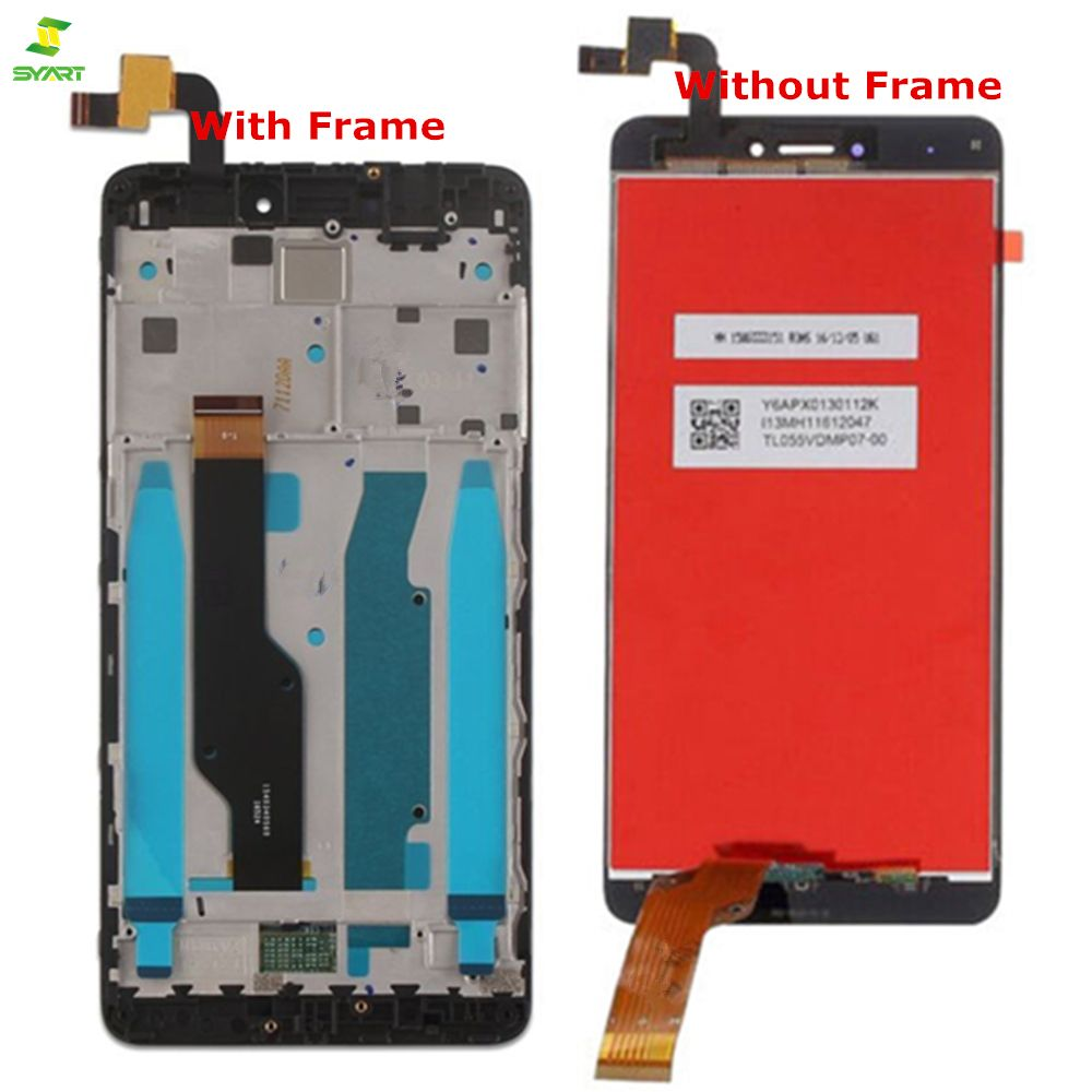 New LCD+Frame For Xiaomi Redmi Note 4X LCD Display Screen For Redmi Note 4 Global Version LCD Display Only For Snapdragon 625