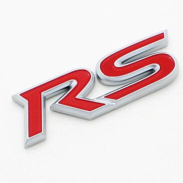 RS Emblem Sticker Metal Badge Car Styling For Acura RLX CL EL CSX ILX MDX NSX RDX RL SLX TL TSX Vigor ZDX