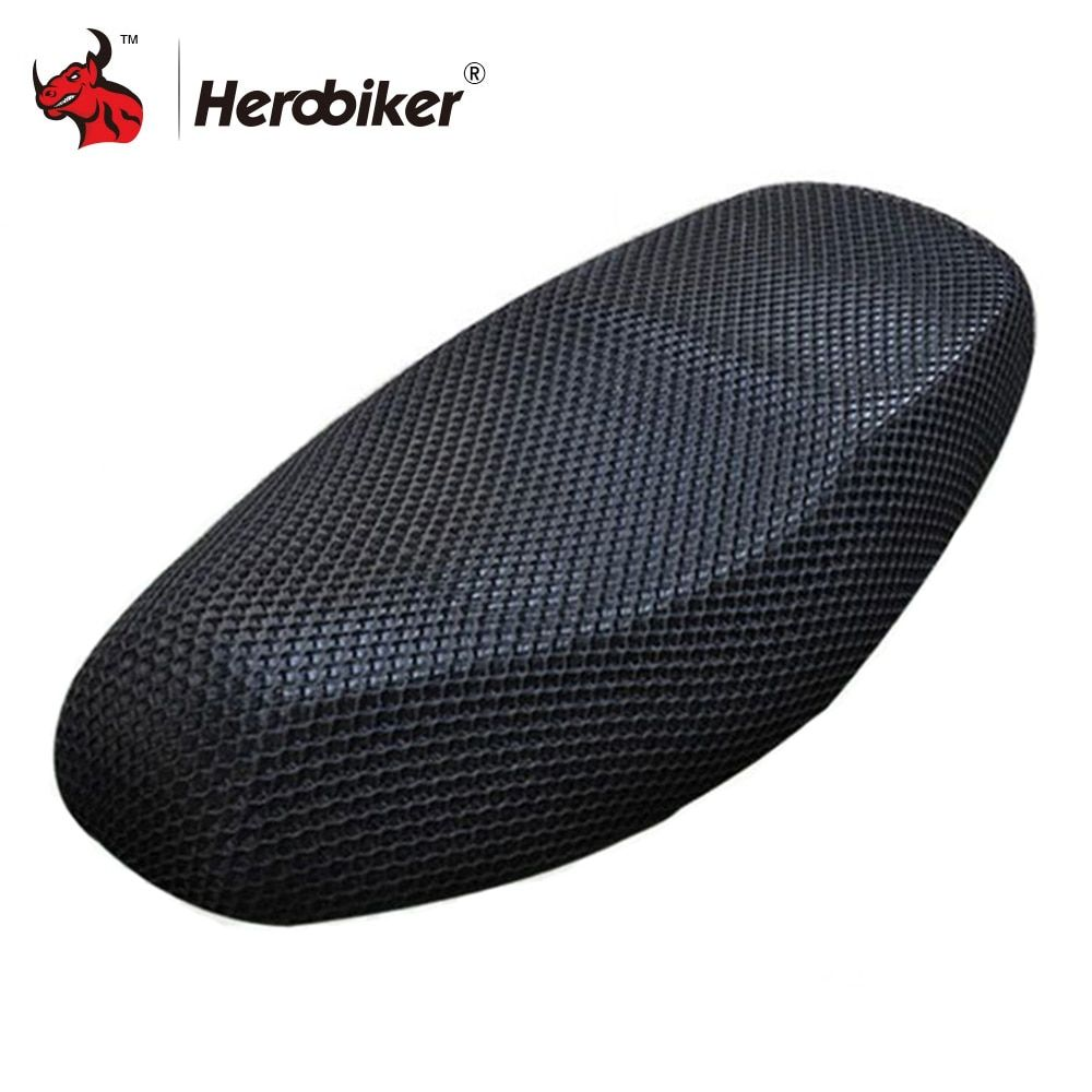 New Summer Cool 3D Mesh Motorcycle Seat Cover Breathable Sun-proof Motorbike Scooter Seat Covers Cushion For Honda Yamaha Suzuki