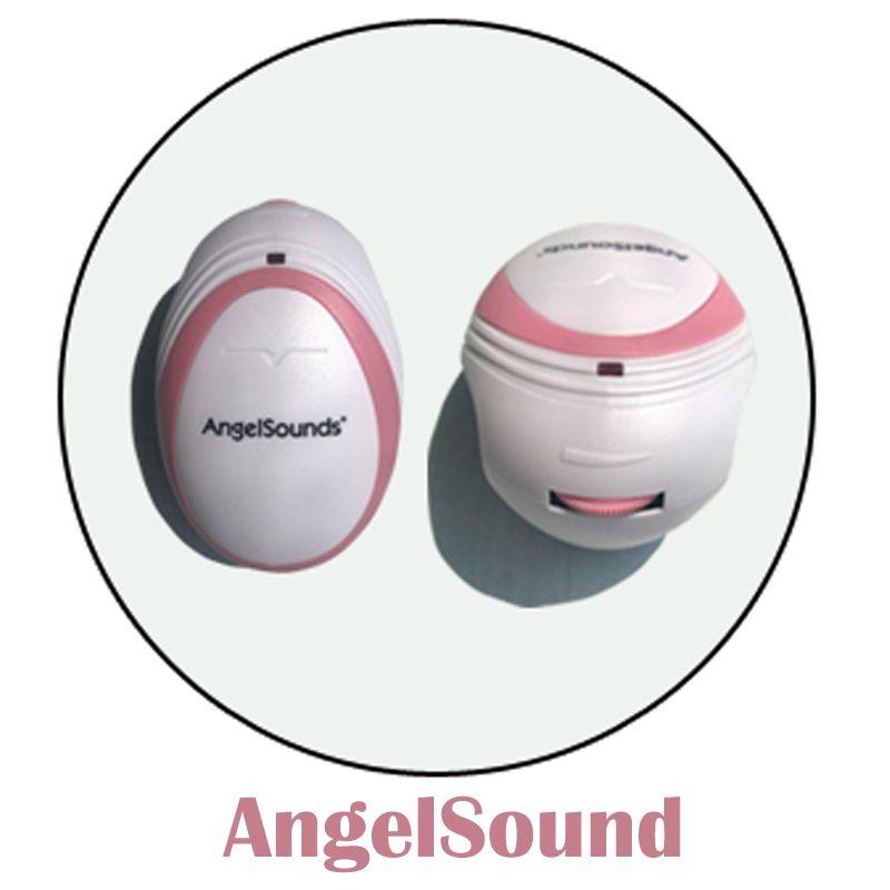 3pcs CE&FDA Factory direct fetal doppler, pocket ultrasound fetal monitor, prenatal monitor, Angel sound
