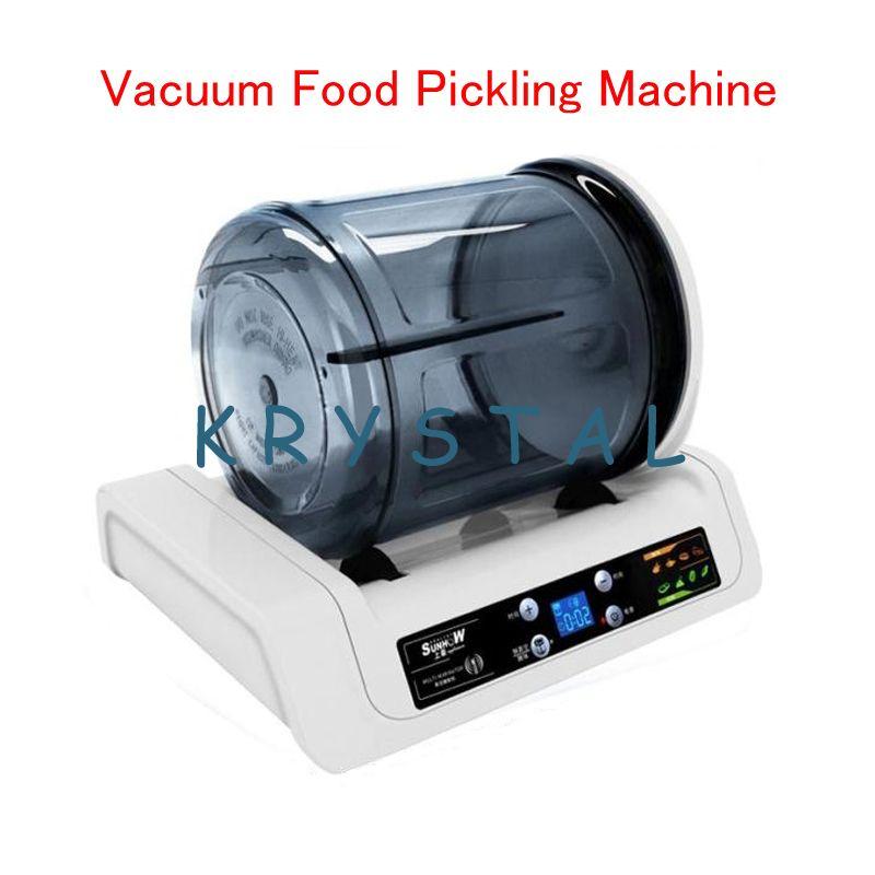 Elektrische Fleisch & Gemüse Marinator 7L Kapazität Vakuum Tumbler Kommerziellen Fleisch/Gebraten Huhn Marinator KA-6189