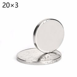 50pcs N52 Super Strong Disc Rare-Earth Neodymium Magnets Magnet 20mm x 3mm  20*3mm 20x3mm