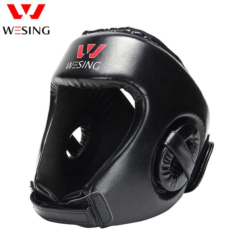 Wesing Boxing Headgear boxing helmet headguard for Sanda muay thai boxing head protector
