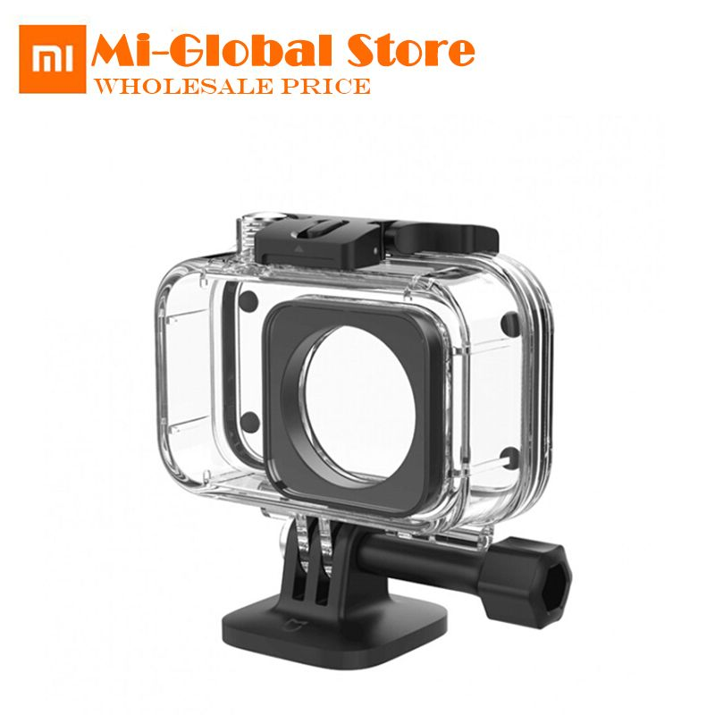 Original Xiaomi Mijia IP68 Diving Case 40M <font><b>Depth</b></font> Waterproof Protector Case Cover for Xiaomi Digital Cameras Sports Mini