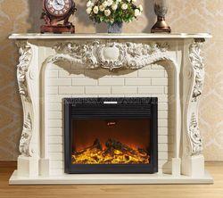 Style européen salon décoration cheminée de chauffage W165cm manteau en bois plus électrique insert LED optique artificielle flamme