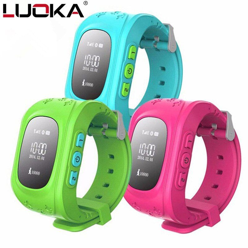 HOT Q50 Smart watch Children Kid Wristwatch GSM GPRS GPS Locator Tracker Anti-Lost Smartwatch Child Guard for iOS Android