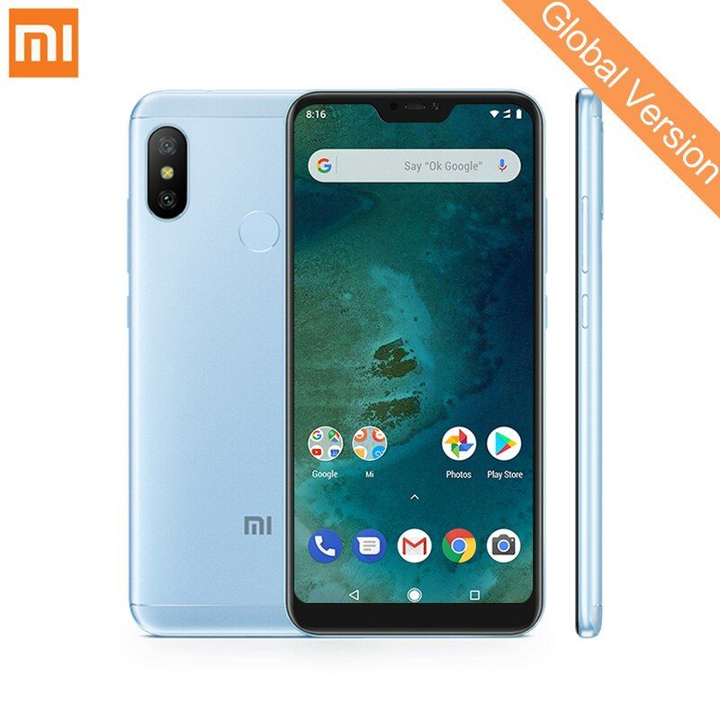 Global Version Xiaomi Mi A2 Lite 4GB 64GB Mobile Phones 5.84