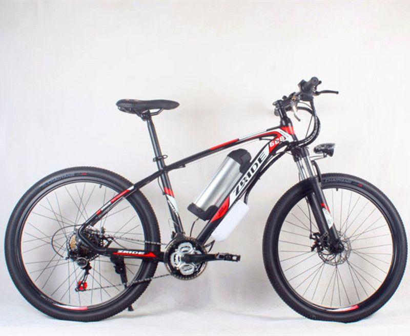 High quality aluminum alloy frame 48V * 500 Watt 12Ah mountain bike hybrid electric bicycle lithium battery motorcycle lithium b
