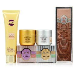 Original ZIDI pemutih wajah Cream set, Day cream, Dan Night cream, Dan pembersihan wajah busa