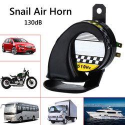 Mobil 12V Tahan Air Siput Air Motor Horn Sirine Keras 130dB untuk Truk Sepeda Motor