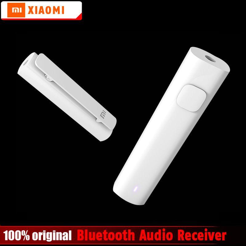 Оригинальный Xiaomi Bluetooth 4.2 аудио приемник Беспроводной Адаптер 3.5 мм AUX аудио музыка автомобиля Динамик наушники гарнитуры Динамик