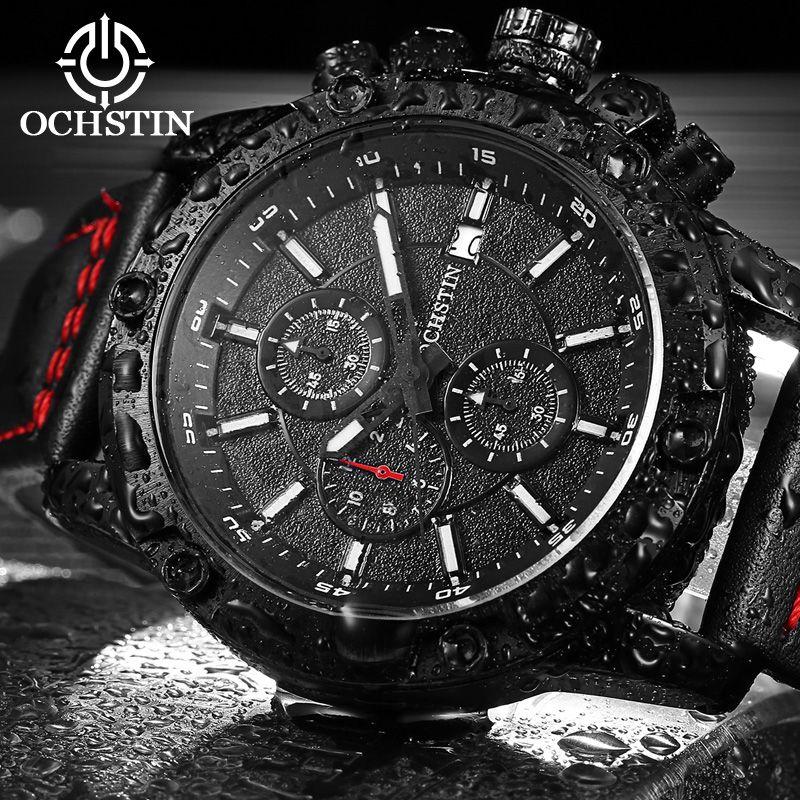 <font><b>2017</b></font> Fashion Leather Strap watches Men Casual watch Men Business wristwatches Sports Military quartz watch Relogio Masculino
