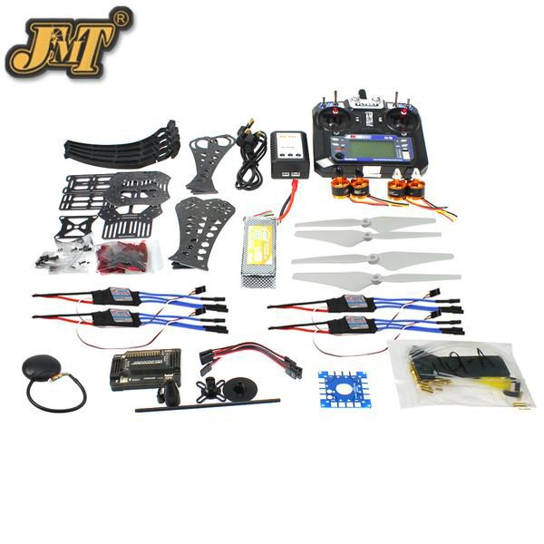DIY RC Drone Quadrocopter X4M360L Frame Kit with GPS APM 2.8 RX FS-i6 6CH Transmitter Full set Quadcopoter