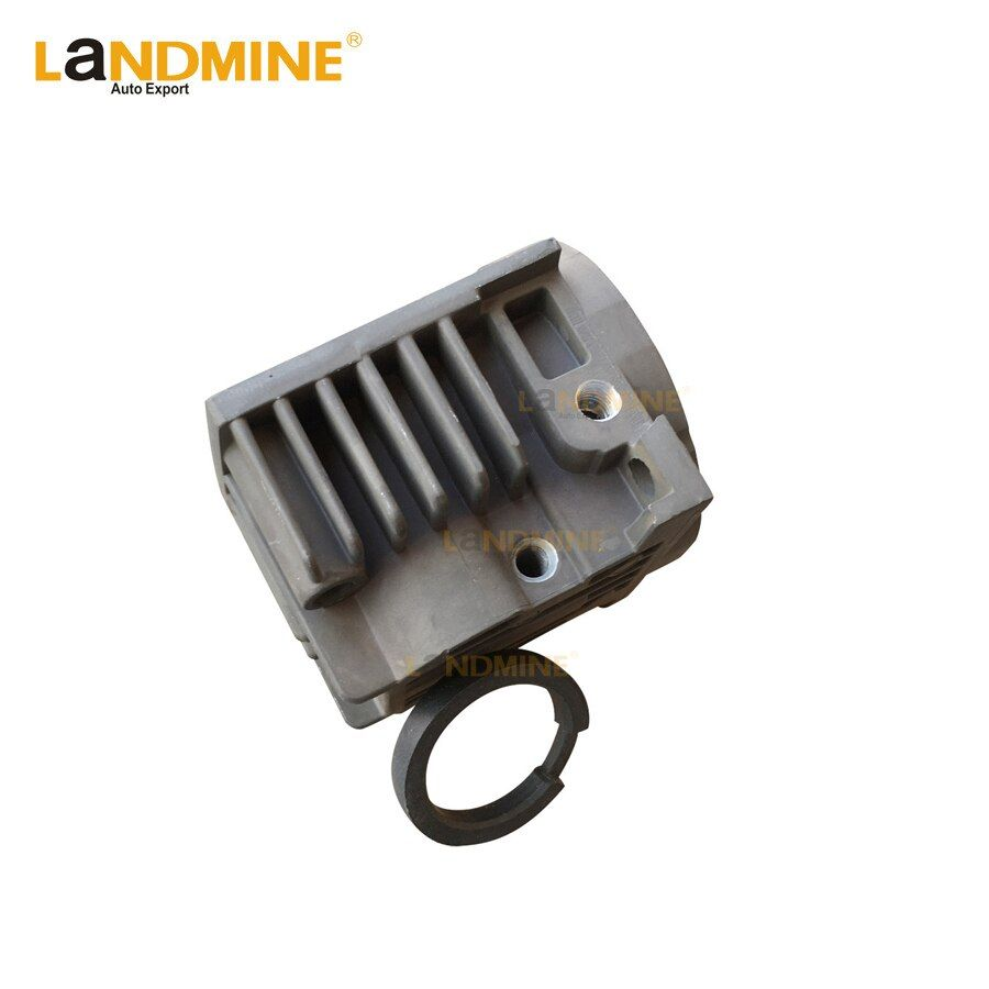 New Air Suspension Pump Air Compressor Cylinder Head With Piston Ring Repair Kits For VW Touareg 7L0698007D 4L069 8007D