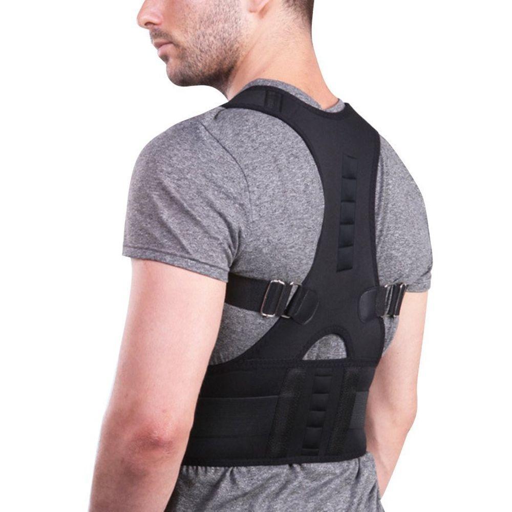 Adjustable Magnetic Posture Corrector Corset Back Brace Back Belt Lumbar Support Straight Corrector de espalda
