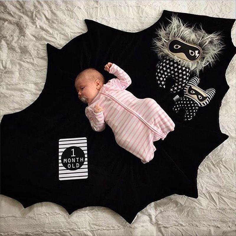 Hot Sale Fashion Batman Blanket Play Mat,baby kids cute blanket Game mat, multifunction children play mat/ Baby Wrap 140*100cm