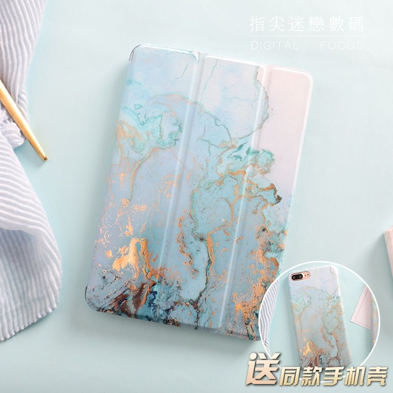 Marble Magnetic Flip Cover For iPad Pro 9.7
